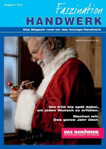 3 / 2013 - Kreishandwerkerschaft Märkischer Kreis