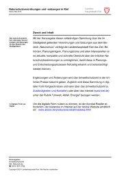 Naturschutzverordnungen und -satzungen in Kiel