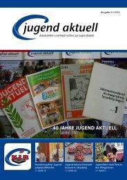 Jugend Aktuell 02/13 - Kreisjugendring Straubing-Bogen