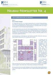 Neubau-Newsletter Nr. 4