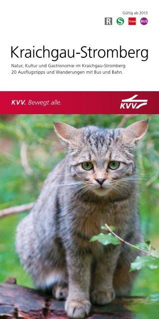 Broschüre Kraichgau-Stromberg - KVV - Karlsruher Verkehrsverbund
