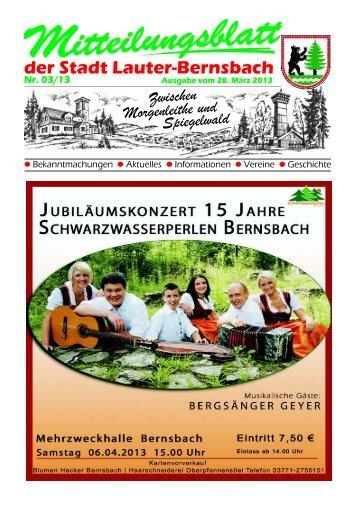 5 - Stadt Lauter / Sachsen