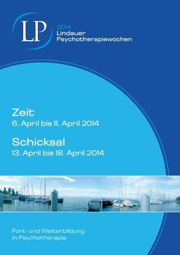 Programm 2014 - Lindauer Psychotherapiewochen