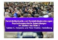 Psychotherapie der Persönlichkeitsstörungen im Zeichen von DSM-6