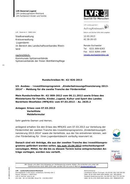 Nr. 826 vom 12.03.2013 (PDF, 415 KB) - Landschaftsverband ...