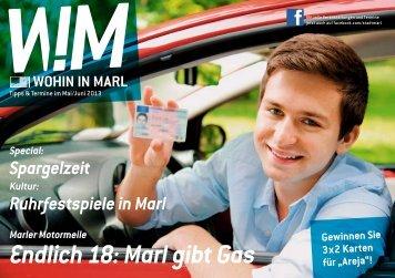 Endlich 18: Marl gibt Gas
