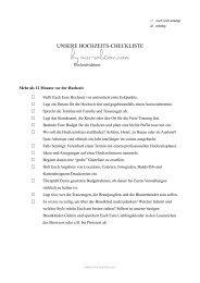 könnt unsere Hochzeits-Checkliste als pdf runterladen - Miss Solution