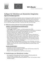 Anlage - Flächenverzeichnis zum HIAP-Antrag