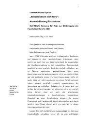 """""""Entschlossen auf Kurs"""": Konsolidierung fortsetzen - Main-Taunus ..."""