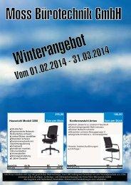 Werbung Feb.-März 2014 - Moss Bürotechnik