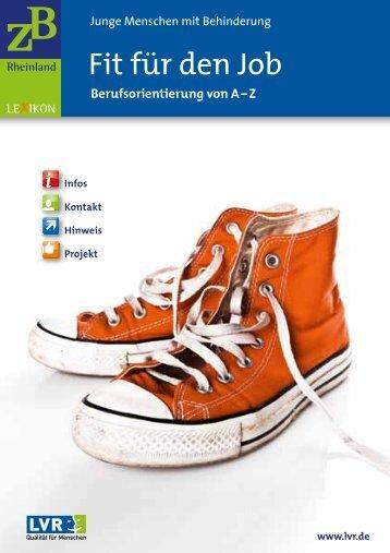 Fit für den Job - Landschaftsverband Rheinland