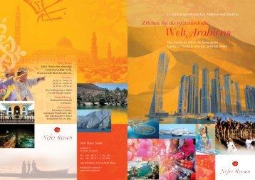 Welt Arabiens - Nefer Reisen GmbH