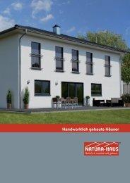 Hausbroschüre - Natura Haus
