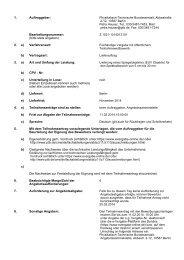 1. Auftraggeber: Physikalisch-Technische Bundesanstalt ...