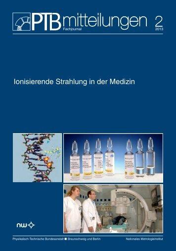PTB-Mitteilungen 2013 Heft 2