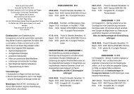 Flyer Programm 2013 - Steyler Missionarinnen