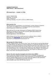 Manuskript - Südwestrundfunk