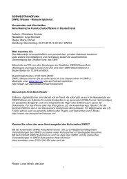Manuskript zum Download - Südwestrundfunk