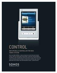 der spezielle controller für dein sonos-system - Dalo.de