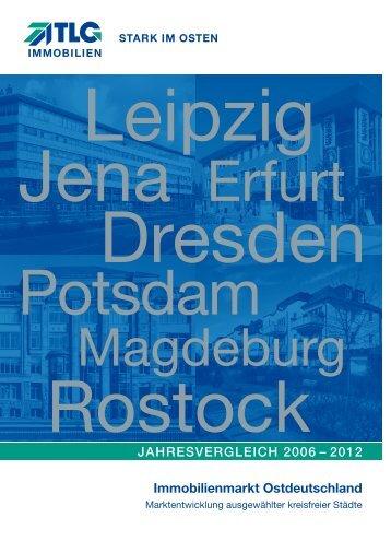 Immobilienmarkt Ostdeutschland Jahresvergleich 2006 – 2012