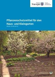 Pflanzenschutzmittel für den Haus- und Kleingarten - Thüringer ...