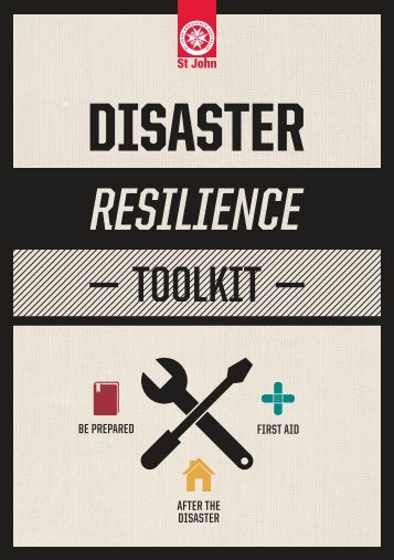 BE PREPARED FIRST AID AFTER THE DISASTER