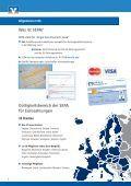 Basis-Information SEPA - Volksbank Schnathorst eG - Page 2