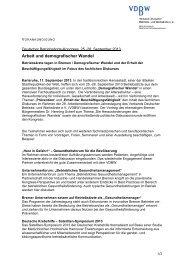 zur Vorankündigung zum Deutschen Betriebsärzte-Kongress 2013