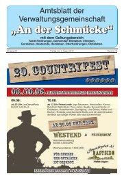 Amtsblatt Nr. 15 vom 02.08.2013 - Verwaltungsgemeinschaft