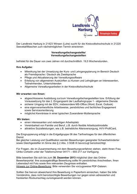 Verwaltungsfachangestellten bewerbung zum Verwaltungsfachangestellte /