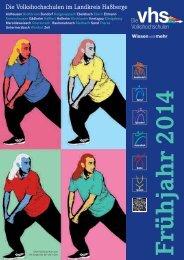 Frühjahrsprogramm 2014 - VHS Hassberge