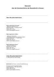 Dokument mit Adressen, E-Mail-Anschriften, Telefon ... - Hessen