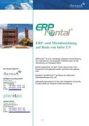 ERPrental Flyer - AZTEKA Consulting GmbH