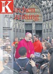 Wohin steuert Papst Franziskus? Was wirklich zählt Diener ... - BKU