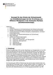 Schallschutzkonzept - Bundesamt für Naturschutz