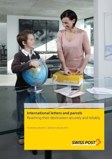 International letters and parcels - Die Post