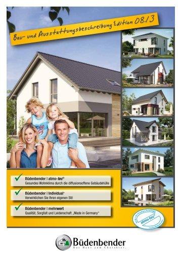 Bau- und Ausstattungsbeschreibung Edition 08.13. - Büdenbender ...
