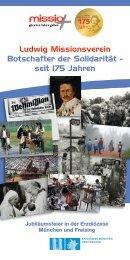 Ludwig Missionsverein Botschafter der Solidarität ... - Katholisch.de