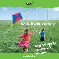 Volle Kraft voraus! Für eine ökologische Energiewende von ... - Bund