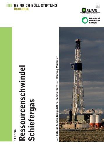 """""""Ressourcenschwindel Schiefergas"""" herunterladen - Bund"""