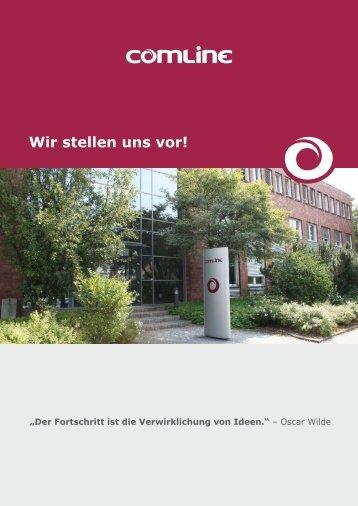"""PDF """"Wir stellen uns vor"""" - Comline"""