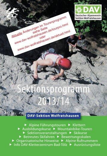 Download - DAV–Sektion Wolfratshausen
