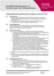 Durchführungsbestimmung nach DIN EN ISO 19011 - DGQ