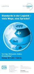Bahn frei! Mehr Dynamik mit Normen. - DIN Deutsches Institut für ...