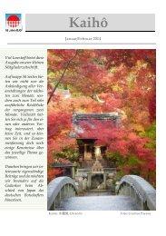 Kaihô - Deutsch-Japanische Gesellschaft in Bayern eV