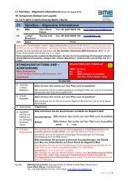 C1 Standbau – Allgemeine Informationen ... - BME