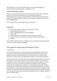 Protokoll 07.01.2014 - Jena