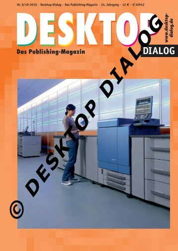 Publishing - Desktop Dialog