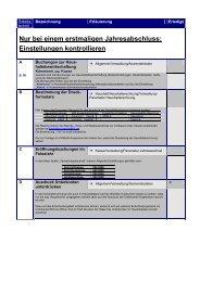 Checkliste zum Jahresabschluss