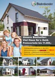 Viel Haus für`s Geld. - Büdenbender Hausbau GmbH